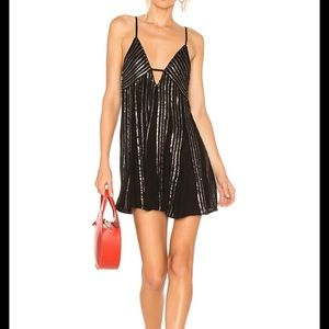 NEW NWT Free People Here She Is Embellish Dress L